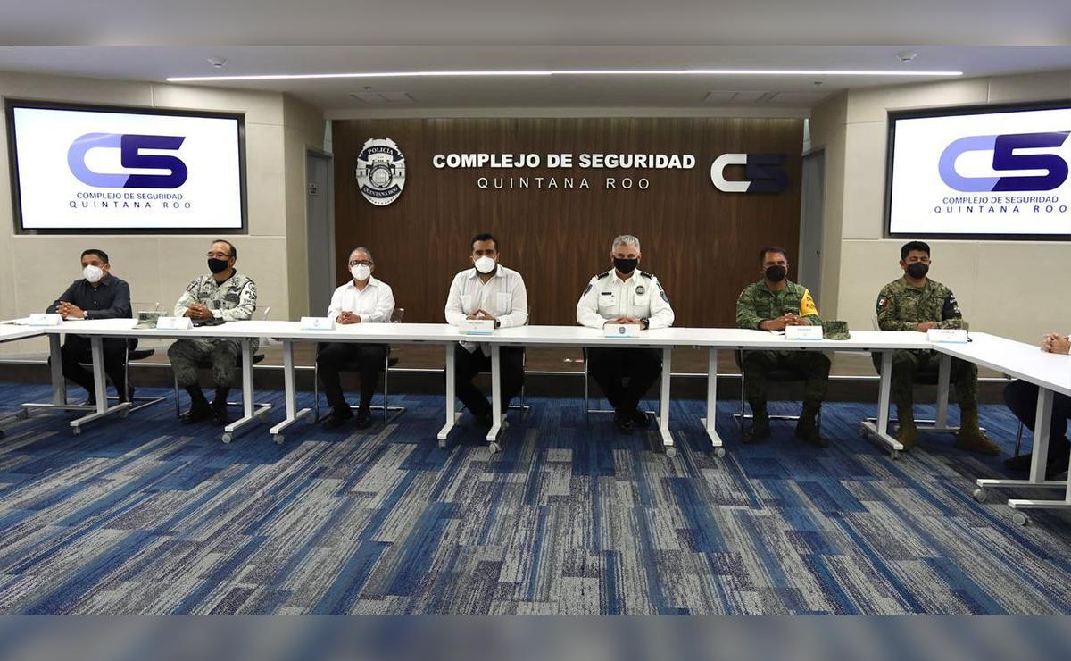 En Quintana Roo se fortalecen las acciones para la recuperación de la paz y la tranquilidad