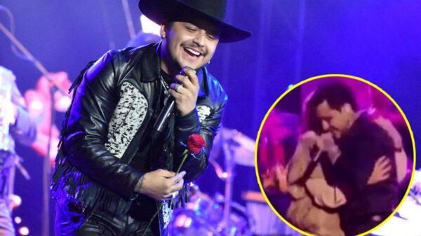 """""""¡Ey! ¿Todo está bien ahí?"""": Christian Nodal detiene concierto para defender a una fan"""