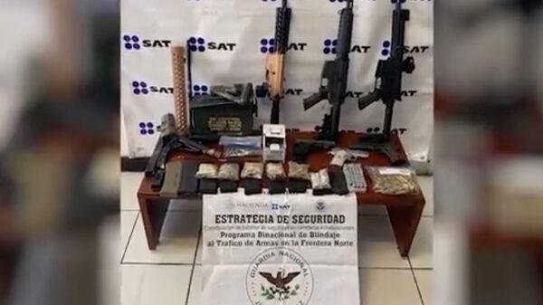 Video: Asesta Guardia Nacional golpe al tráfico ilegal de armas
