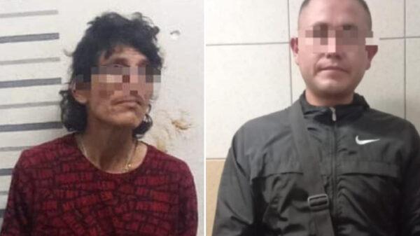 Detienen a dos sujetos en posesión de droga en Playa del Carmen.