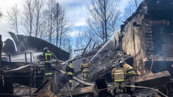 Explosión en Rusia deja al menos 16 personas muertas.
