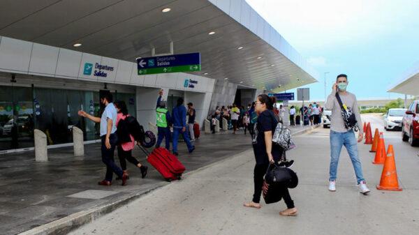 Anuncia el aeropuerto de Cancún 418 operaciones para hoy.