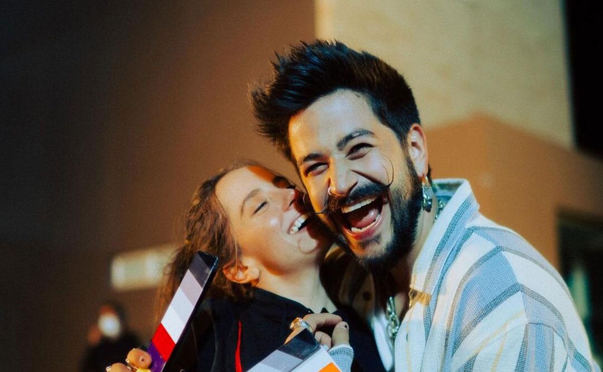Evaluna Montaner y Camilo anuncian su embarazo con el lanzamiento de 'Índigo'