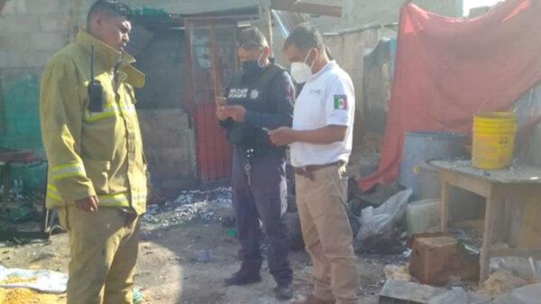 Explosión en taller clandestino de pirotecnia deja más de 4 heridos
