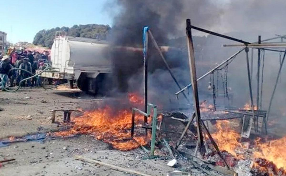 Explosión de pirotecnia en Ticul deja dos abuelitos muertos