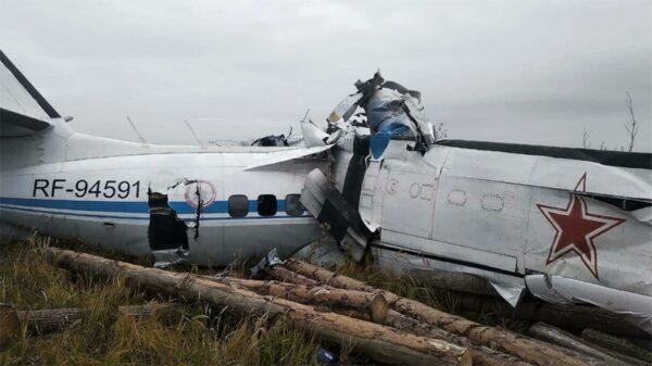 Se desploma avión en Rusia; hay por lo menos 16 muertos (VIDEO).