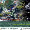 ¡Prepárense! Se espera lluvias en 7 estados por frente frío y onda tropical