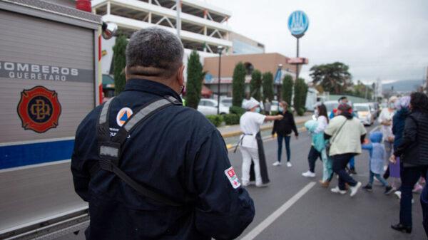 54 personas entre ellos 32 menores son evacuados de guardería, por fuga de gas