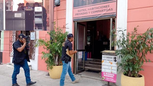 Encuentran muerto a huésped en un hotel de Mérida