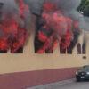 Oficinas de la CNTE en Michoacán son incendiadas