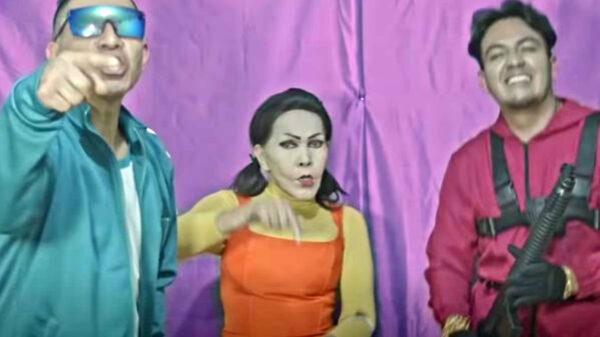La Tigresa del Oriente lanza la canción 'El baile del calamar' inspirada en la serie de Netflix