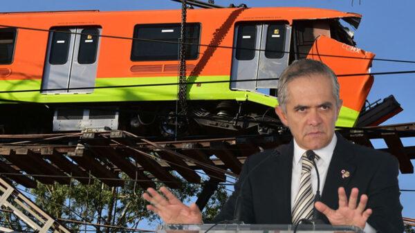 Denunciarán a Mancera por negligencia en L12 del metro