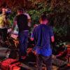 Reportan 3 muertos y 23 lesionados tras volcar e incendiar camioneta con migrantes