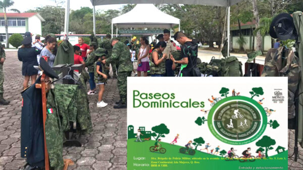 Retoma Sedena invitación a paseos dominicales en Ciudad Militar