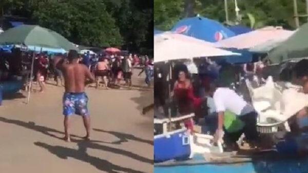 Pleito entre vendedores y turistas deja varios heridos en Acapulco