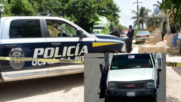 Cancún: Ladrones realizan millonario atraco de equipo en una obra