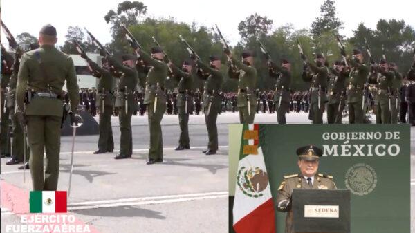Video: Celebró Sedena 200 años de la creación de la Secretaría de Guerra y Marina