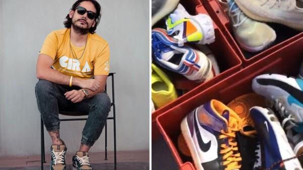 ¿Sin dinero? Rix vende su colección de tenis con autógrafo tras salir de la cárcel