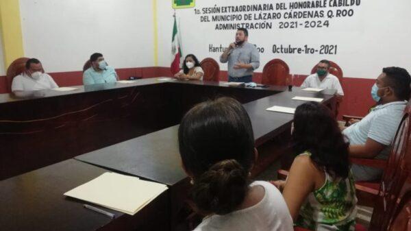 Aprueban logotipo del Ayuntamiento de Lázaro Cárdenas para la administración 21-24.