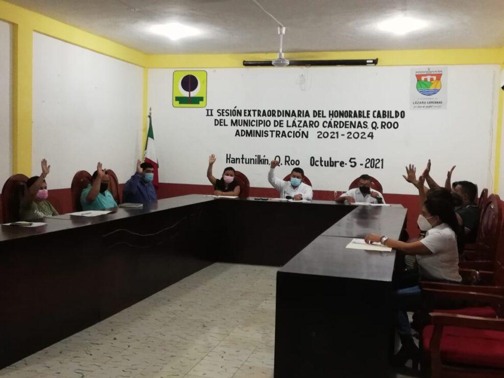 Aprueban licencia del séptimo regidor Josué Nivardo Mena.