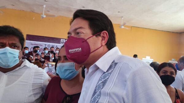 Asegura Mario Delgado que Don Gastón Alegre tiene derecho a participar en búsqueda de la gubernatura
