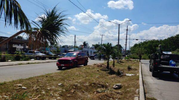 Cancún: Hallan camioneta de una familia secuestrada en Haciendas del Caribe.