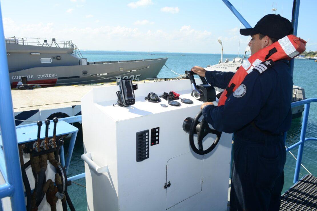 """Continúa la búsqueda de la embarcación """"MOI Guadalupe"""" en el Caribe; la Secretaría de Marina reactiva sus operaciones."""