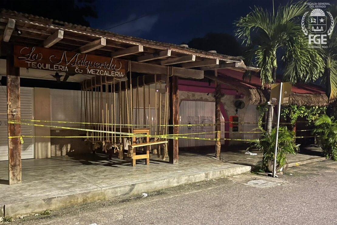 FGE: Fueron 2 extranjeros muertos y 3 más heridos en ataque a bar en Tulum.