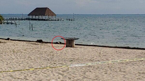 Rescatan cuerpo de un sujeto ahogado en playa de Puerto Juárez (VIDEO).
