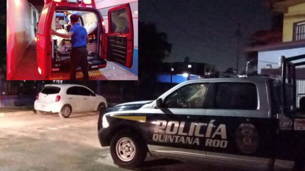 Cancún: Balacera en Bonfil deja dos muertos y un herido