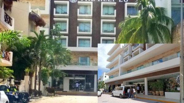Sicario dispara contra hotel en Playa Del Carmen