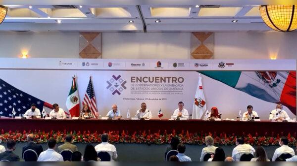 Quintana Roo expone su potencial y necesidades en el Encuentro de Gobernadores y la Embajada de Estados Unidos de América