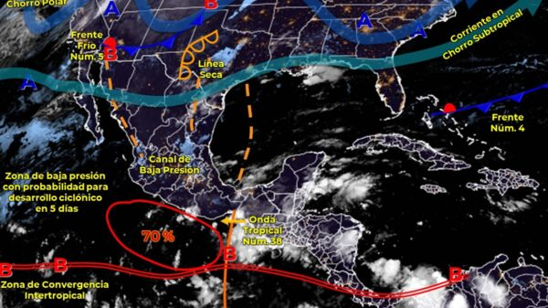 Clima para Cancún y Quintana Roo hoy miércoles 20 de octubre de 2021.