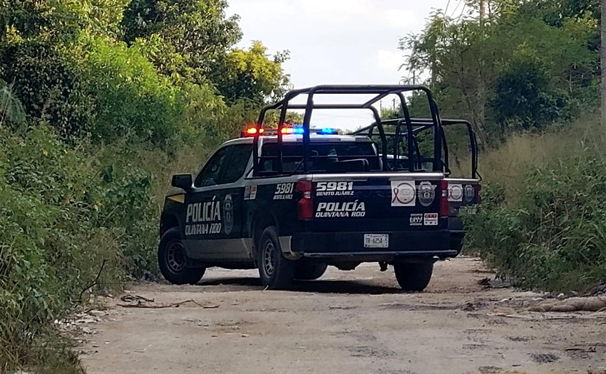Cancún: Pepenador encuentra cadáver de ejecutado en SM 255