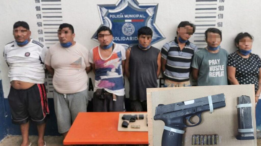 Detienen a banda de extorsionadores en Playa Del Carmen
