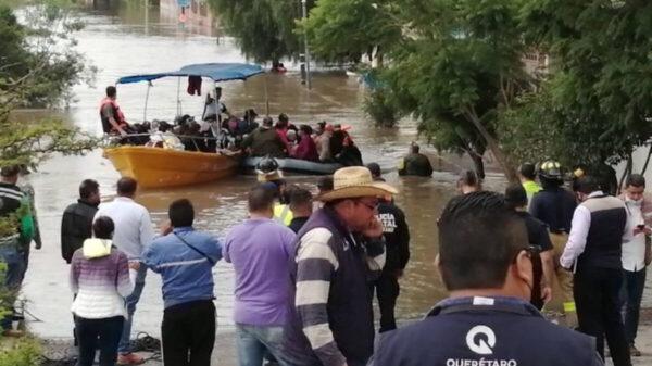 Las lluvias causan estragos en Querétaro; reportan dos muertos