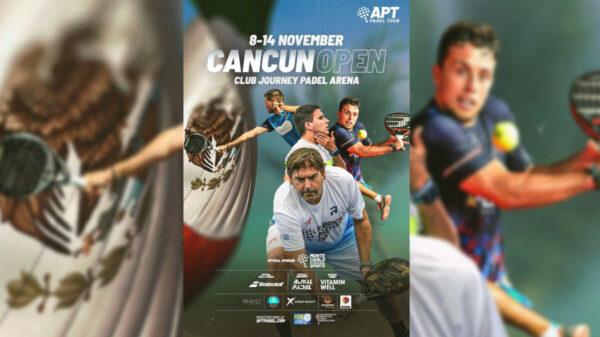 Cancún Open de APT Pádel Tour 2021, circuito internacional mas importante del mundo.