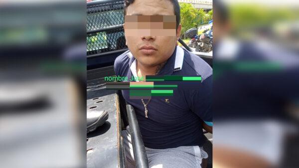 Capturan en Playa Del Carmen a presunto narcomenudista