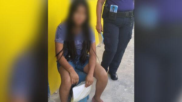 Cancún: Rescatan en Tres Reyes a una menor con Alerta Amber.