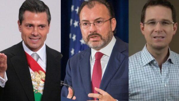 Busca FGR imputar delincuencia organizada a Peña Nieto, Videgaray y Anaya.