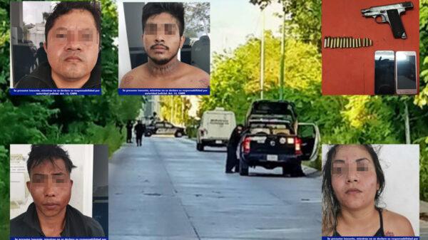 Video: Rescate en Playa Del Carmen conduce a dos ejecutados
