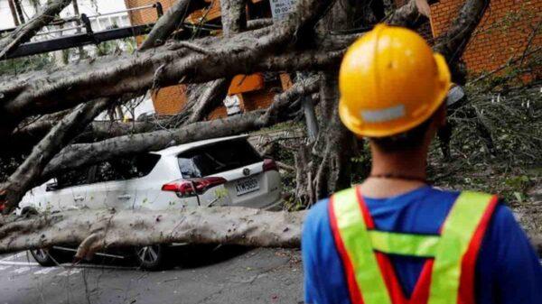 Fuerte sismo de 6.2 golpea el noreste de Taiwán.