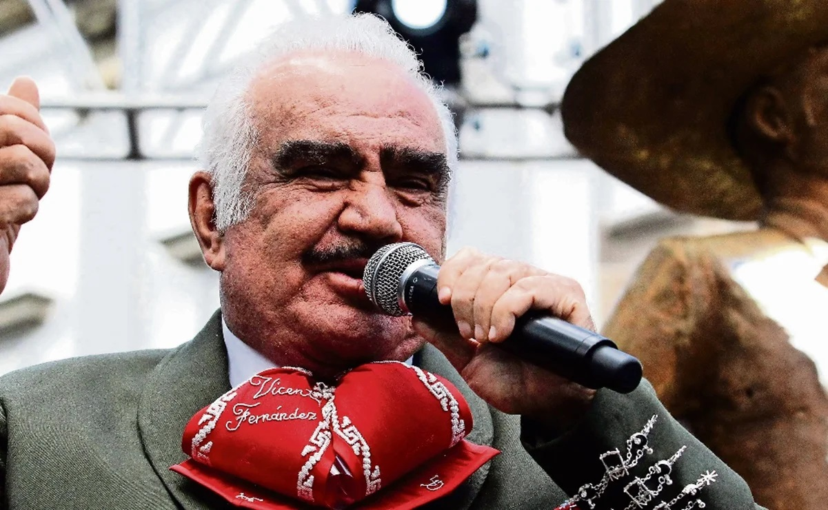 ¡Sin esperanzas! Vicente Fernández tiene muerte cerebral.